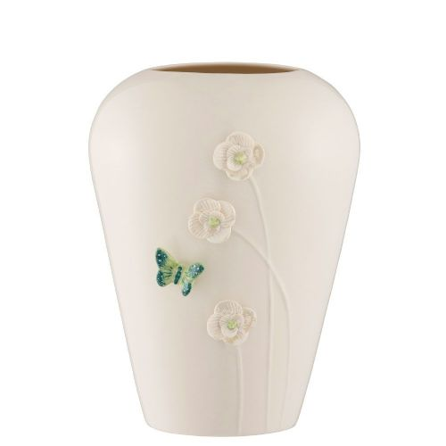 "Belleek Living Jade 8"" Vase"